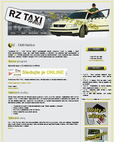 Www-taxi-horice